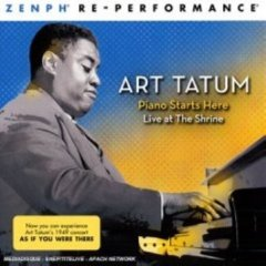 Art Tatum Piano Starts Here Live at the Shrin
