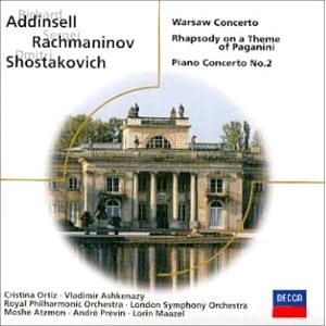 Addinsell Rachmaninoff Shostakovich etc: Wars