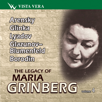 The Legacy of Maria Grinberg Volume 4 ~ Arens