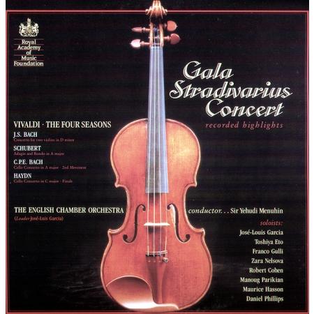 Gala Stradivarius Concert Recorded Highlights