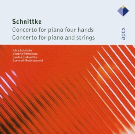 Schnittke: Concertos for Piano Four Hands Con