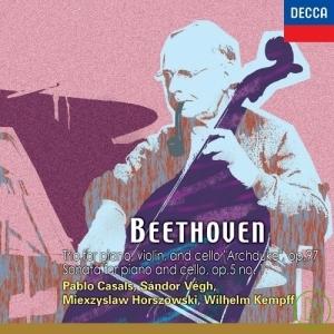 Beethoven: Trio for piano violin and cello