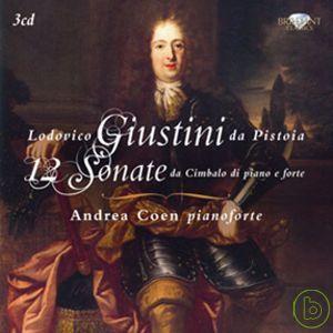 Lodovico Giustini da Pistoia: 12 Sonate da Ci
