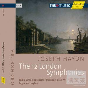 Haydn: The 12 London Symphonies  Roger Norrin