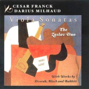 Franck Milhaud Dvorak Bloch  Babbitt: Viola S