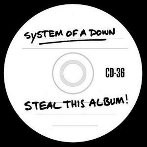 System of a Down  Steal This Album  Clean