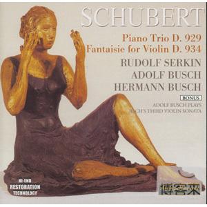 Schubert: Trio D. 929  Serkin  Busch
