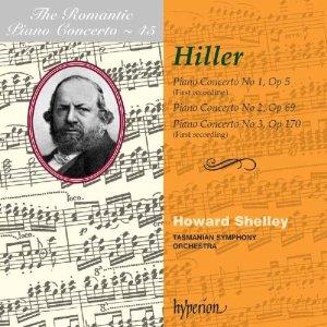 Hiller: Piano Concertos 1~3  Howard Shelley T