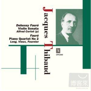 Faure Piano quartet No.2  Marguerite Long Thi