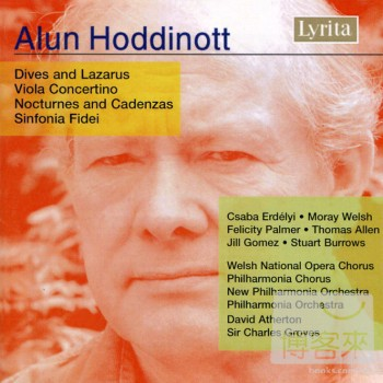 Alun Hoddinott: Viola Concertino Dives and La