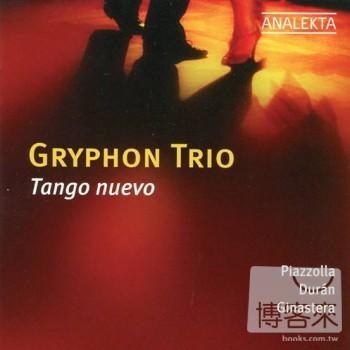 Gryphon Trio  Tango Nuevo: Gryphon Trio plays