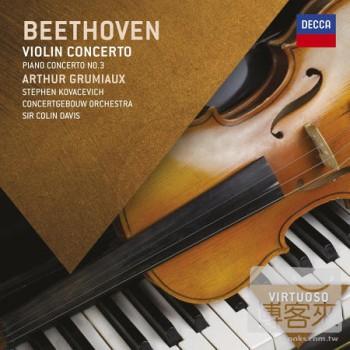Beethoven: Violin Concerto  Piano Concerto No