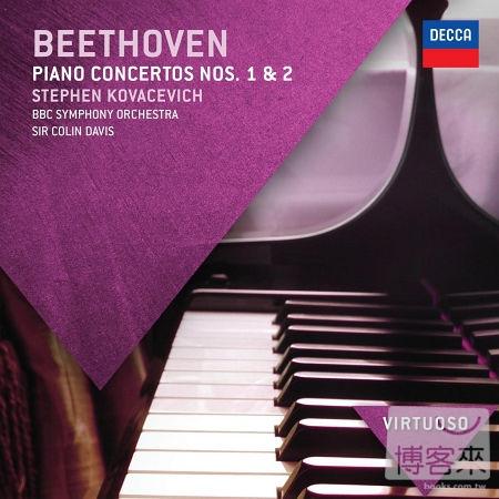 Beethoven: Piano Concertos 1  2  Stephen Kova