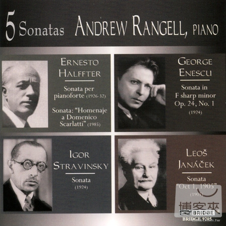 Andrew Rangell plays Five Piano Sonatas