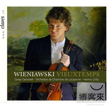 Wieniawski Vieuxtemps  Corey Cerovsek  violin
