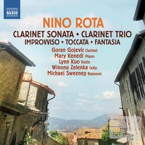 ROTA: Clarinet Sonata Clarinet Trio  Goran Gojevic clarinet  Mary Kenedi piano