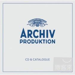Archiv Produktion CD Catalogue  Limited Editi