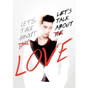SEUNGRI  ~LET'S TALK ABOUT LOVE~韓國 豪華雙版本~紅色版