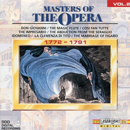 V.A.  Masters of the Opera Vol.2 1772~1791