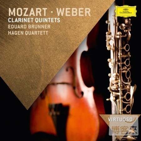 Virtuoso 76 : Mozart  Weber Clarinet Quintets