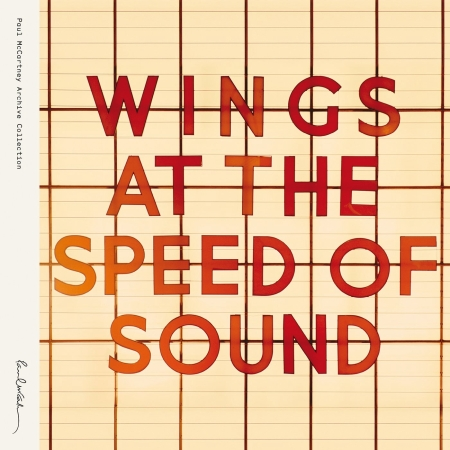 Paul McCartney Wings  At The Speed Of Sound