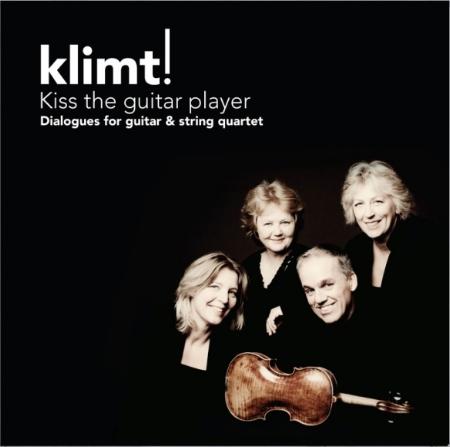 Kiss the guitar player  The Gustav Klimt Stri