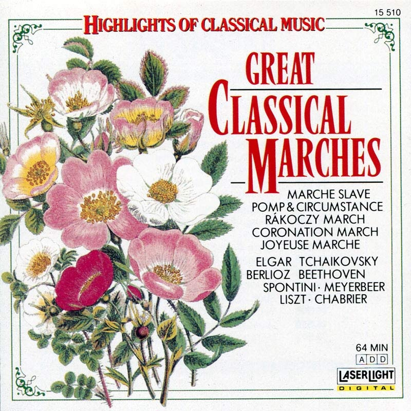 V.A.  Great Classical Marches  Herbert Kegel