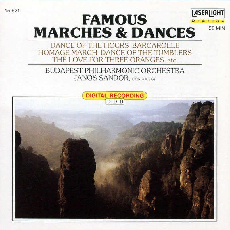 V.A.  Famous Marches  Dances  Janos Sandor et