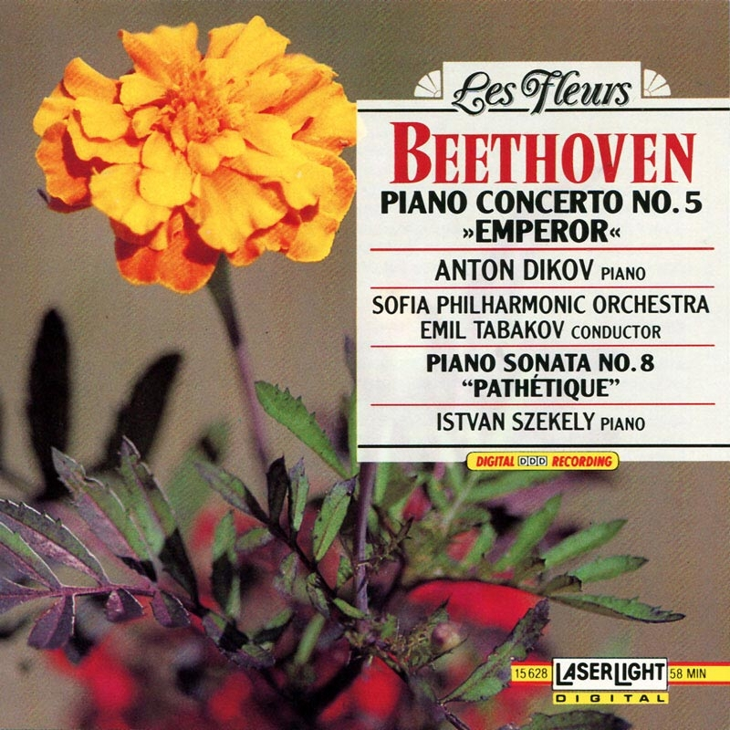 Beethoven: Piano Concerto No.5  Sonata No.8