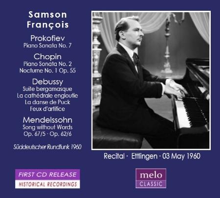 Samson Francois Vol.2 ~The legendary piano re