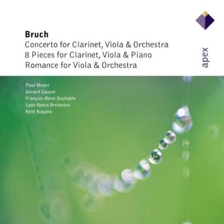 Bruch : Works for Clarinet  Viola  Paul Meyer