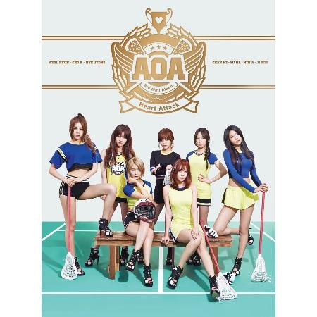 王牌女神AOA  韓語迷你3輯~怦然心動 Heart Attack~ 獨占限定盤  CD