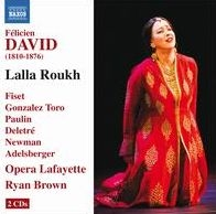 DAVID: Lalla Roukh  Brown ^(conductor^) Opera