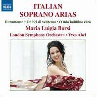 ITALIAN SOPRANO ARIAS  Maria Luigia Borsi Yve