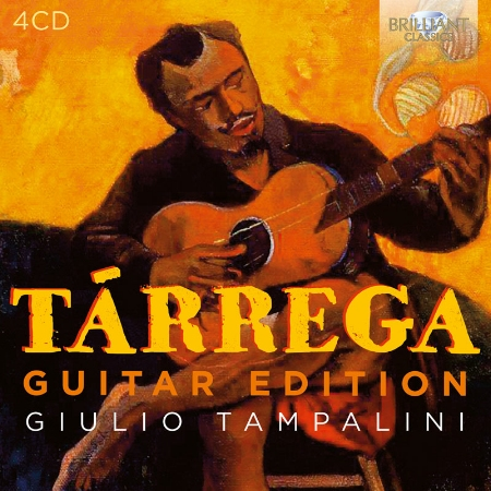 Francisco Tarrega: Guitar Edition  4CD