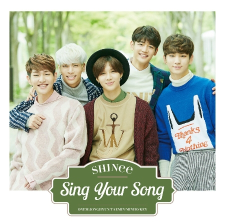 SHINee  Sing Your Song  CD 小卡