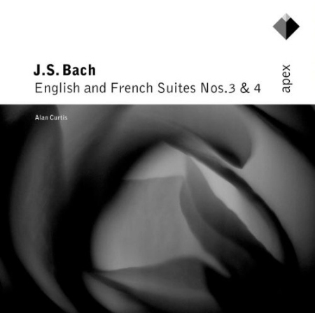 BACH: English  French Suites  Alan Curtis