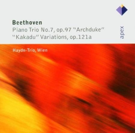 Beethoven: Trios pour piano 11  7  Haydn Trio Wien