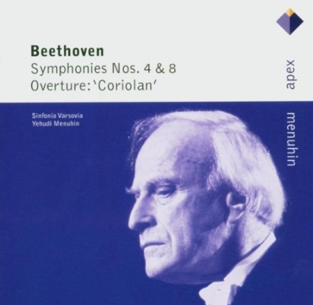 Beethoven: Symphonies 4  8  Menuhin