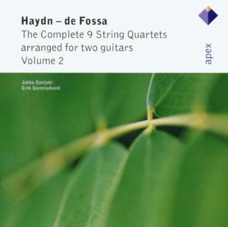 Haydn: String Quartets Arranged For 2 Guitars