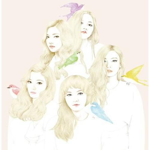 Red Velvet  首張迷你專輯~Ice Cream Cake~台壓A版 ^(CD D