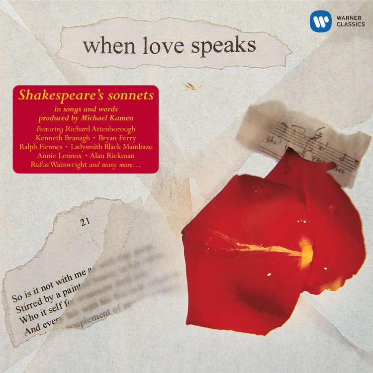 V.A.  When Love Speaks ~ Shakespeare's Sonnet