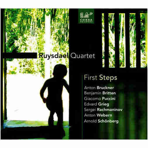 First steps^~ string quartet by Bruckner Brit