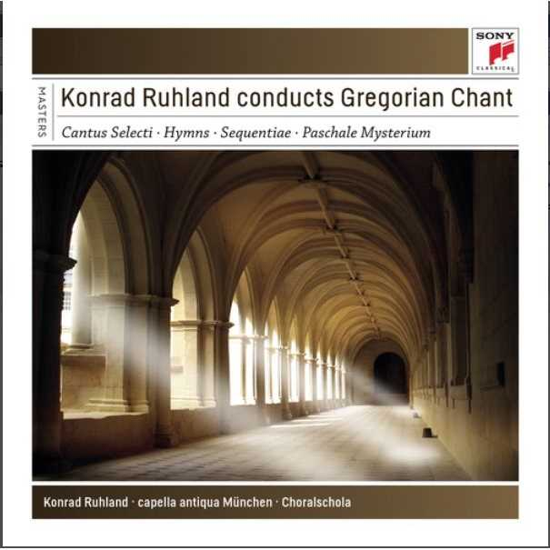 《Sony Classical Masters》Conducts Gregorian Chant / Konrad Ruhland (4CD)(《典範大師套裝系列126》指揮葛利果聖歌 / 康拉德魯蘭
