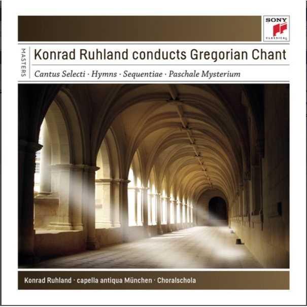 《Sony Classical Masters》Conducts Gregorian Chant / Konrad Ruhland (4CD)(《典範大師套裝系列126》指揮葛利果聖歌 / 康拉德魯蘭