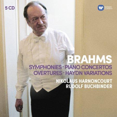 世紀典藏 盒 ~布拉姆斯:交響曲全集、兩首鋼琴協奏曲、序曲、海頓主題變奏  布赫賓德〈鋼琴