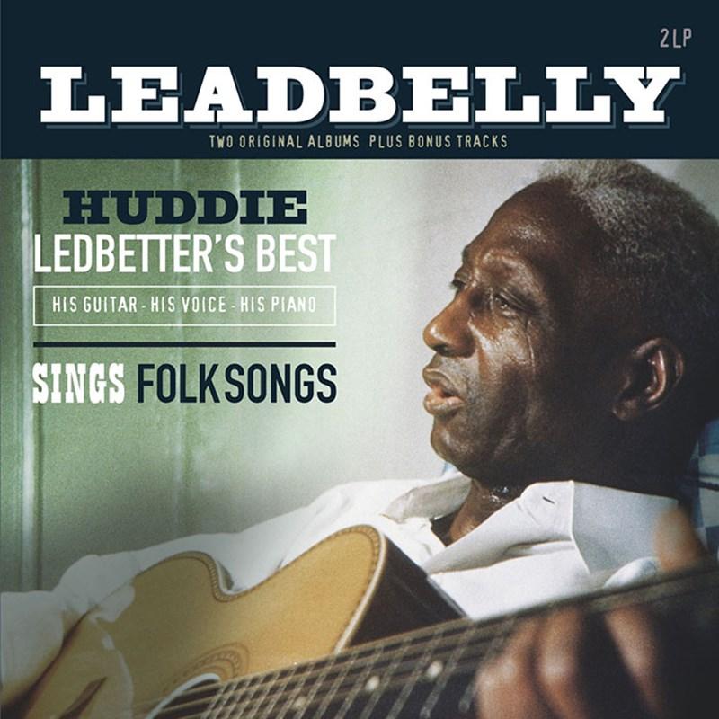 鉛肚皮 / 《最佳精選 (他的吉他、他的歌聲、他的鋼琴)》與《演唱美國民謠藍調曲集》雙專輯 (180g 2LP黑膠唱片)(Lead Belly / Huddie Ledbetter's Best (H
