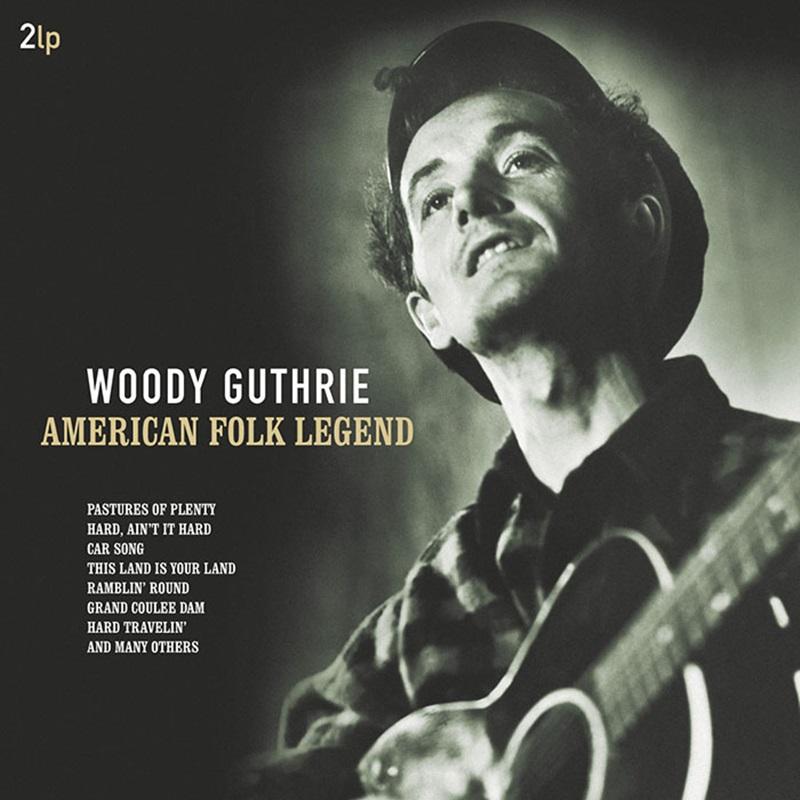 伍迪.蓋瑟瑞 / 美國民謠傳奇 (180g 2LP黑膠唱片)(Woody Guthrie / American Folk Legend (180g 2LP))