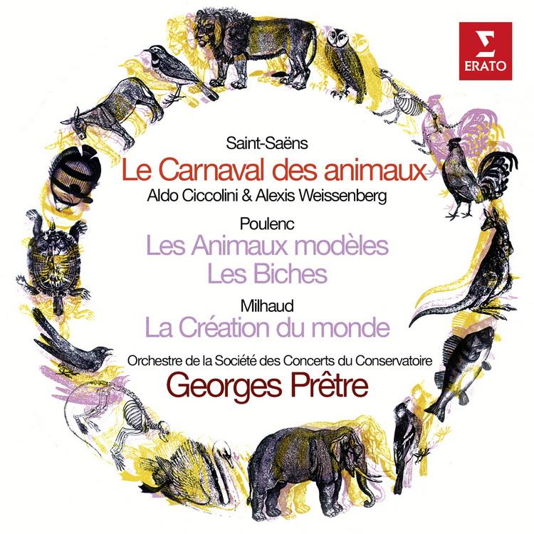 再現 ~ 聖桑:動物狂歡節、浦朗克:動物的典型、米堯:世界的創造  契可里尼 魏森伯格〈鋼
