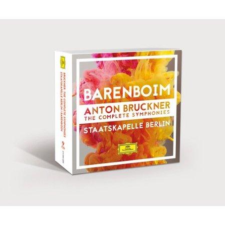 布魯克納:交響曲全輯 (低價套裝CD盒) / 巴倫波英指揮,柏林國立管弦樂團 (9CD)